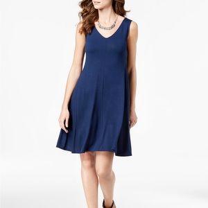 Style &Co Cross Back Swing Dress